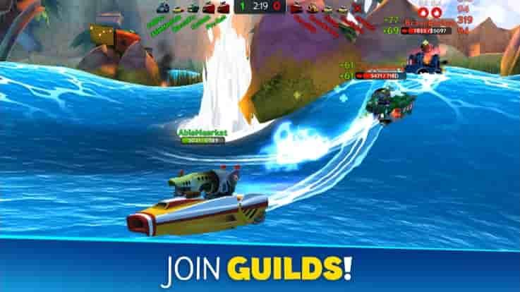Battle Bay screenshot: Join Guild