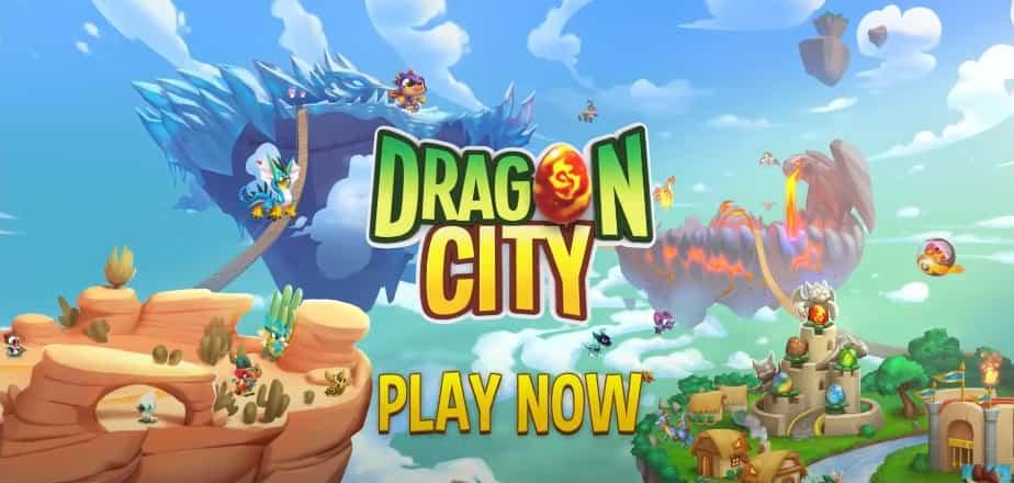 Dragon City MOD APK Poster