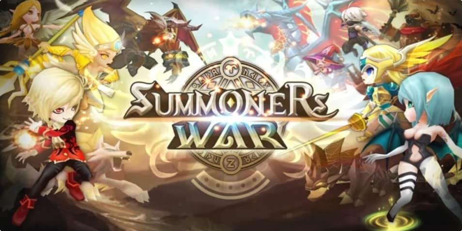 Summoners War MOD APK Poster