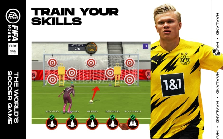FIFA Soccer for android: TRAIN YOUR SUPERSTARS